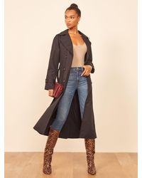 Reformation Holland Trench - Black