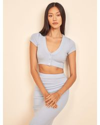Reformation Palermo Two Piece - Blue