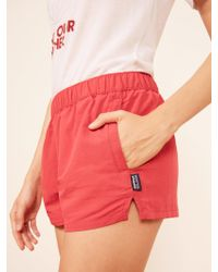 Reformation - Patagonia Barely Baggies Shorts - Lyst