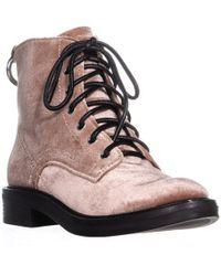 Dolce Vita - Bardot Flat Combat Boots - Lyst