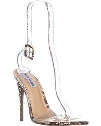 afd63960e71 Lyst - Steve Madden Devlin Ankle Strap Block Heel Sandals
