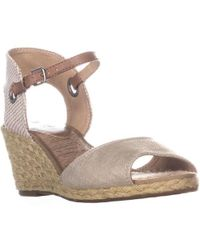 Lucky Brand - Kyndra Wedge Sandals - Lyst