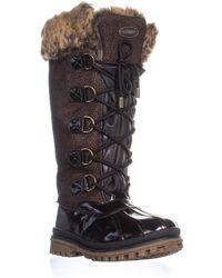 Khombu - Quechee Stingray Snow Boots - Lyst
