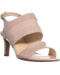 Clarks - Laureti Joy Sling Back Ankle Buckle Sandals - Lyst