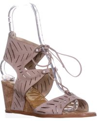 Dolce Vita - Langly Wedge Sandals - Lyst