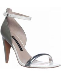 French Connection - Nanette Ankle-strap Dress Sandals - Lyst
