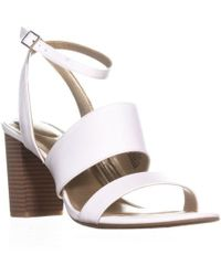 4a669394ce3e Office Anchor 3 Strap Heels in Metallic - Lyst