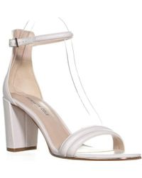 Kenneth Cole - Lex Round Toe Ankle Strap Sandals - Lyst