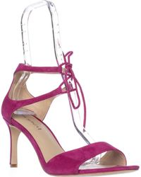 Via Spiga - Skylar Lace Up Ankle Strap Sandals - Lyst