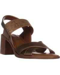Easy Street - Tuscany Perlita Open Toe Block Heel Sandals - Lyst