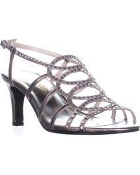 Caparros - A-list Strappy Rhinestone Dress Sandals - Lyst
