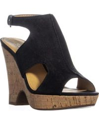 Franco Sarto - Glamour Slingback Sandals - Lyst