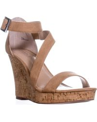 Charles David - Charles Charles David Leanna Strappy Wedge Sandals - Lyst