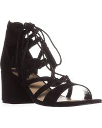 Marc Fisher - Rayz Lace Up Sandals - Lyst