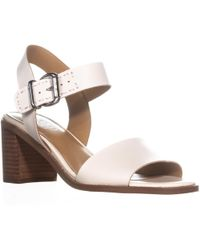 7cecde001f83 Franco Sarto - Havana Buckle Heeled Sandals - Lyst