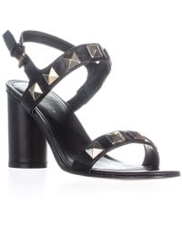 Marc Fisher Panna Ankle Strap Sandals - Black
