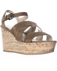 Via Spiga - Kendall Platform Wedge Strappy Sandals - Lyst