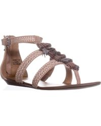 Report Lanston Flat Thong Sandals - Natural