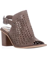 Chinese Laundry Christabel Peep-toe Sling-back Sandals - Brown