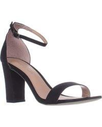 Madden Girl Beella Ankle Strap Dress Sandals - Black