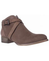 Vince Camuto - Casha Perforated Ankle Booties - Lyst