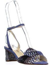 Sarah Flint - Paige 50 Block Heel Ankle Strap Sandals - Lyst
