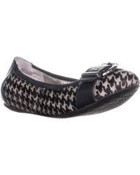 Me Too - Rascal9 Front Toe Buckle Slip On Ballet Flats - Lyst