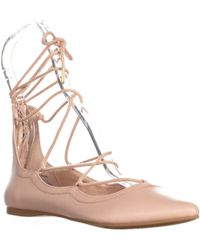 Madden Girl - Edgyy Pointed Toe Gladiator Flats - Lyst