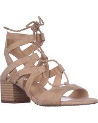 Vince Camuto - Fauna Lace-up Dress Sandals - Lyst