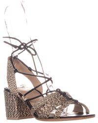 Pour La Victoire Amada Lace Up Sandals - Black
