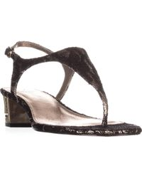 Adrianna Papell - Cassidy T-strap Sandals - Lyst