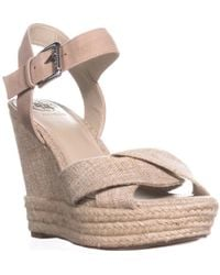 Guess - Sanda3 Espadrille Wedge Sandals - Lyst