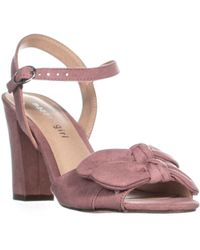 Madden Girl Mg35 Bows Double Bow Tie Ankle Strap Sandals - Purple