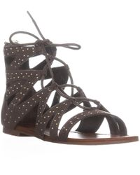 Guess - G By Leidah Studded Gladiator Sandals - Lyst
