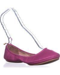 Kate Spade Globe Ballet Flats - Pink