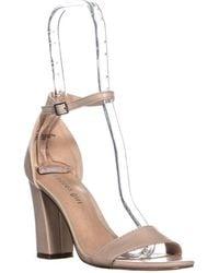 Madden Girl Beella Ankle Strap Dress Sandals - Multicolour