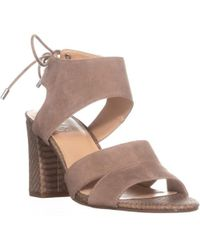 Franco Sarto - Gem Ankle Tie Sandals - Lyst