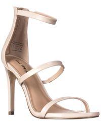 Call It Spring Astoelian Triple Strap Dress Sandals - Multicolour