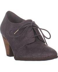 Dr. Scholls Credit Ii Lace Up Heeled Oxfords - Multicolour