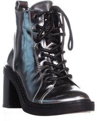 Dolce Vita Lynx Combat Boots - Black