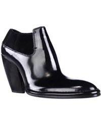 CoSTUME NATIONAL - 1115930 Pointed-toe Ankle Boots - Lyst