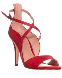 Call It Spring Hauwet Ankle Strap Sandals - Red