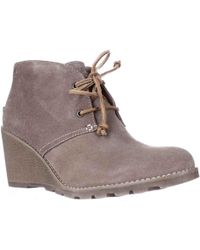 Sperry Top-Sider - Stella Prow Wedge Ankle Booties - Lyst