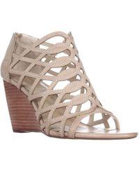 Adrienne Vittadini - Footwear Arndre Wedge Caged Sandals - Lyst