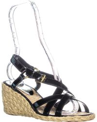 7db91a99417 Lauren by Ralph Lauren - Lauren Ralph Lauren Chrissy Wedge Sandals - Lyst
