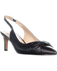 Franco Sarto - Dianora Pointed Toe Twist Slingback Heels - Lyst