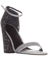 Guess Bambam3 Ankle Strap Sandals - Metallic