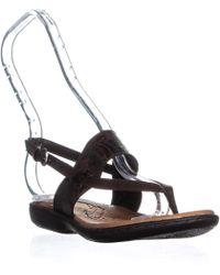 Born B.o.c. Magdalena Sling Back Sandals - Brown