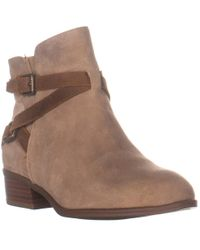 Lauren by Ralph Lauren Lauren Ralph Lauren Mehira Flat Ankle Boots - Brown