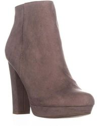 Report - Lyle Closed Toe Ankle Fashion Boots - Lyst